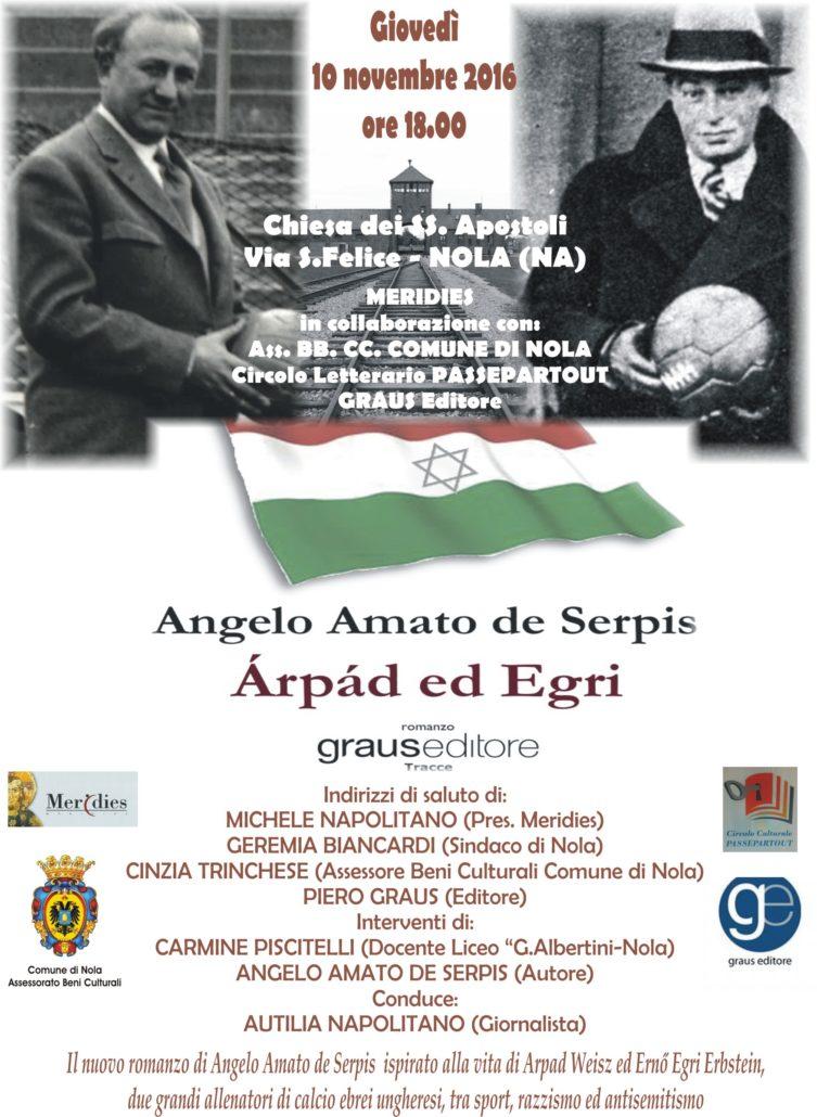 Arpad ed Egri - Presentazione Nola Manifesto